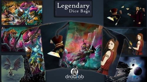 Legendary Dice Bags: Add style to your game