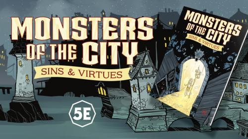 Monsters of the City for 5E RPG