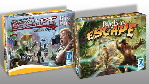 Escape Zombie City Big Box & Escape Big Box (2nd Ed)