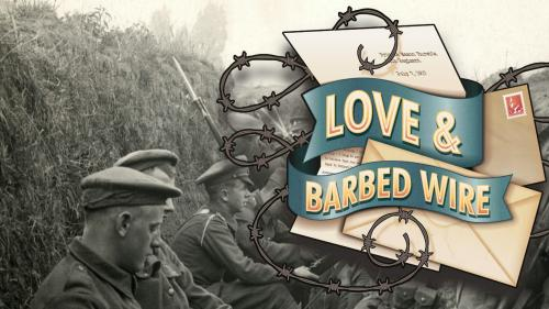 Love & Barbed Wire - a letter writing game for two people