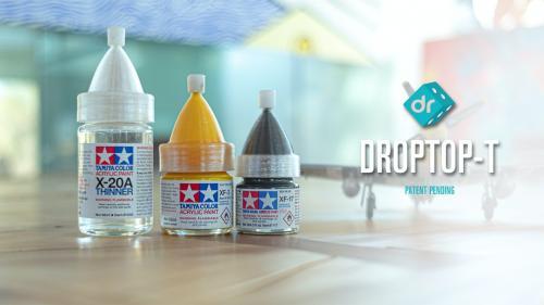 DropTop - T for Tamiya Model Paints
