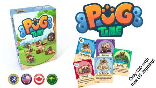 Pug Time: A Card Game About Pugs!