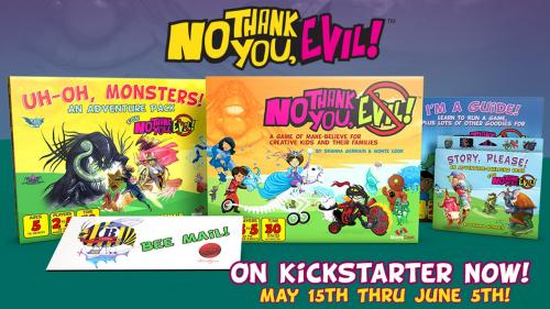 No Thank You, Evil! - A Game So Nice We're Making it Twice