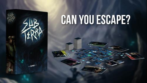 Sub Terra: a Cooperative Survival Horror Game for 1-6 Cavers