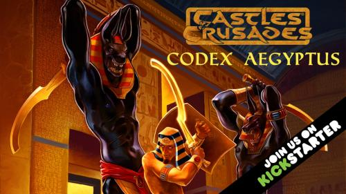 Castles & Crusades Codex Aegyptus