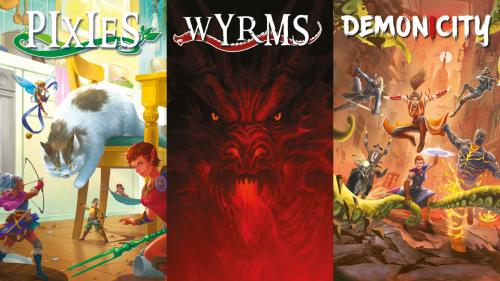 Pixies, Wyrms, Demonicity – Three Mini Role-Playing Games