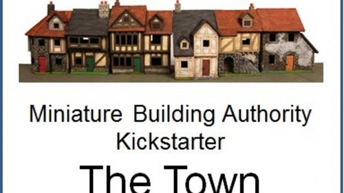 Miniature Building Authority Town Kickstarter