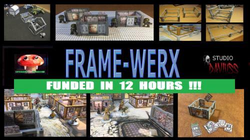 FRAME-WERX : AFFORDABLE MODULAR BUILDING/DUNGEON KIT FILES