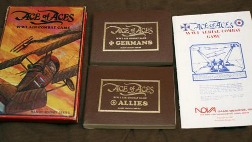 Ace of Aces rotary series limited edition reprint.