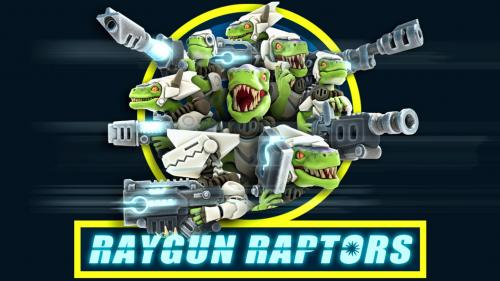 Raygun Raptors: Army of 3D Printable Sci-Fi Miniatures