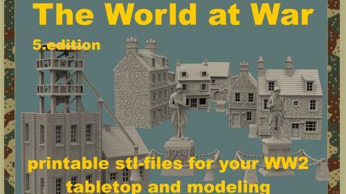 The World at War part 5, 3d printable terrain