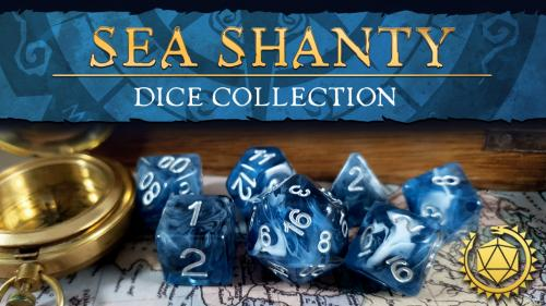 Sea Shanty Dice Collection