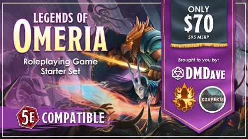 Legends of Omeria Starter Set