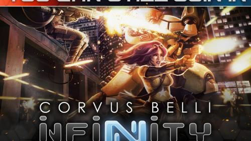 Corvus Belli s INFINITY Roleplaying Game