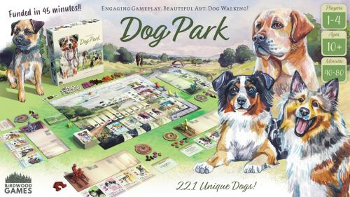 Dog Park: A Beautiful Board Game about Walking Dogs