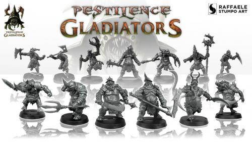 Pestilence Gladiators Miniatures