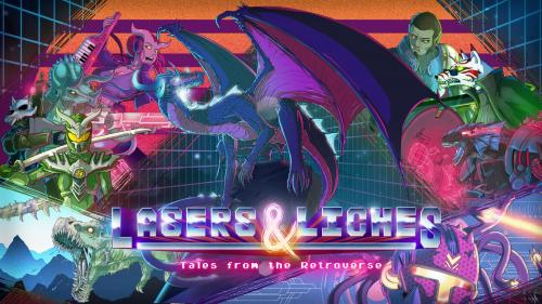 Lasers & Liches: Tales from the Retroverse 5E