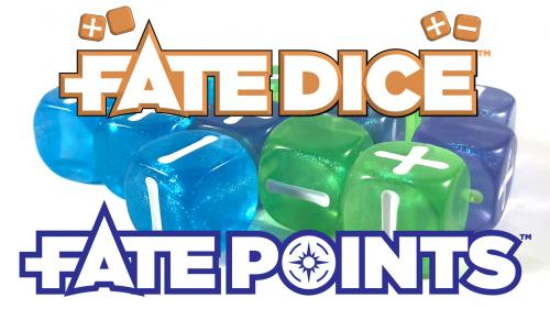 Fate Dice™ and Fate Points™: Accessories for Fate Core