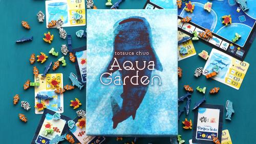 Aqua garden - Become an owner of an aquarium 1-4 players