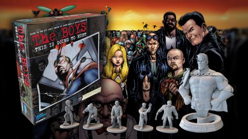 THE BOYS: This Is Going To Hurt The Board Game