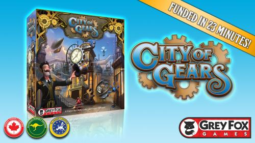 City of Gears, a Game of Discovery, Development & Disruption