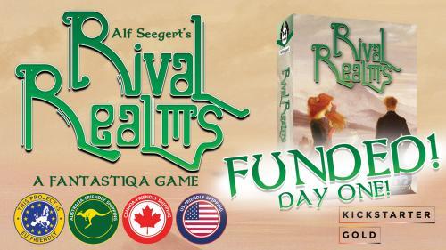 Kickstarter Gold: Fantastiqa - Rival Realms!