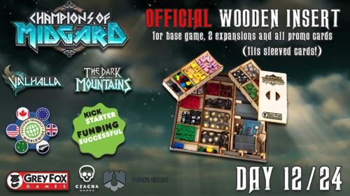 Champions of Midgard official wooden insert