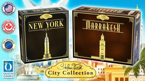 Stefan Feld City Collection - New York City & Marrakesh