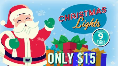 Christmas Lights Card Game