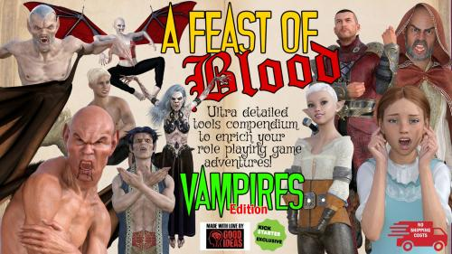A FEAST OF BLOOD - An ultra detailed tools compendium x RPG