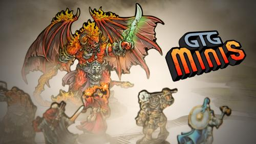 GTG Minis For Tabletop RPGs