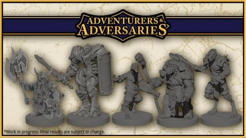 Adventurers & Adversaries 28mm High Quality Resin Miniatures