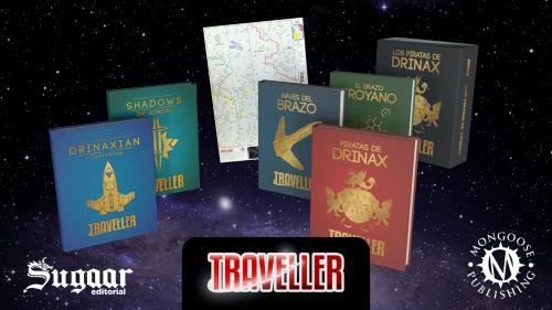 Traveller: Piratas de Drinax en español