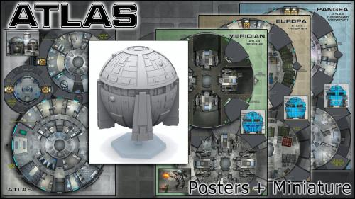 Atlas: Starship Maps & Miniature