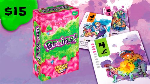 Brains! - the zombie card game for all ages