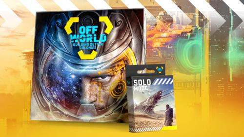 Off World: Building Better Colonies board game
