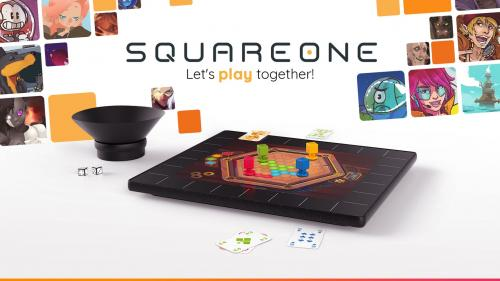 SquareOne®, the board game console