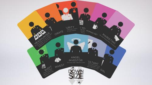 Downsize - A Competitive Card Game for 2-6 Players