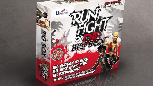 RUN FIGHT OR DIE! + NEW EXPANSION AND BIG BOX