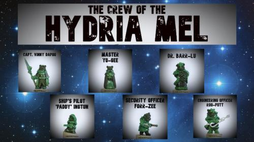 The Crew of the Hydria Mel: SPACE BEARS! (MAKE 99)