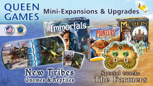 Queen Games - Mini Expansions and Upgrades