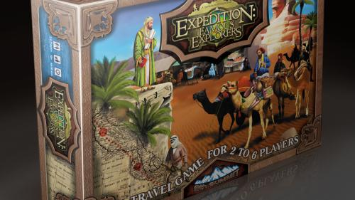 EXPEDITION: FAMOUS EXPLORERS - NOW WITH FREE MINIATURES!