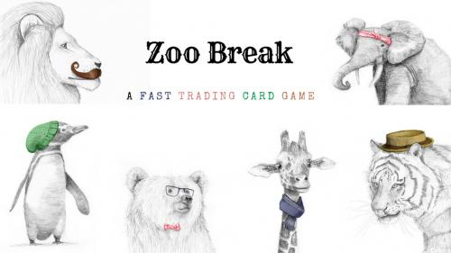 Zoo Break: A 3-6 Player Hipster Card Game