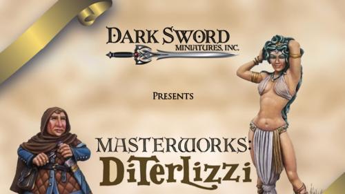Dark Sword Miniatures New Range: Tony DiTerlizzi Masterworks