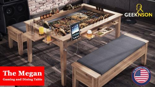 The Megan Board Game Table