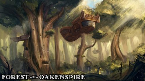 Forest of Oakenspire - 3D Printable Tabletop Models