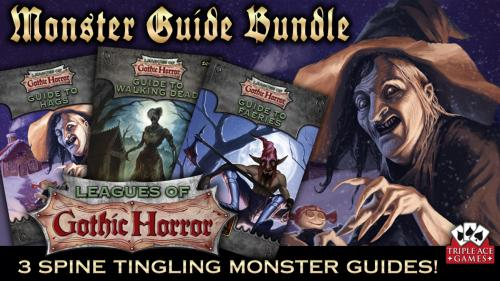 Leagues of Gothic Horror RPG Expansions
