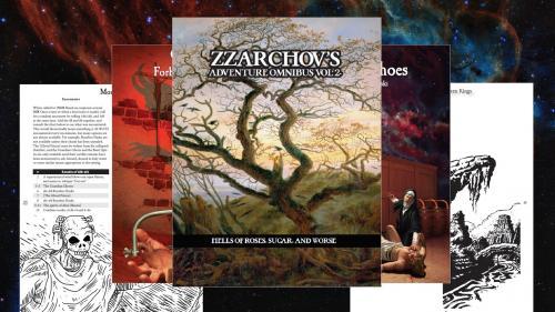 Zzarchov s Adventure Omnibus Volume 2