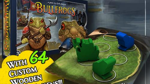 Bullfrogs - A Strategy Game of Amphibian Combat
