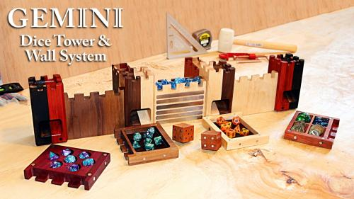 Gemini Dice Tower and Wall System